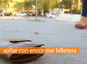 Soñar con encontrar billetera